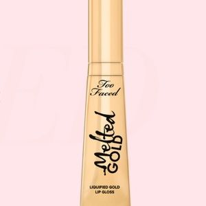 Too faced MELTED GOLD Lipstick